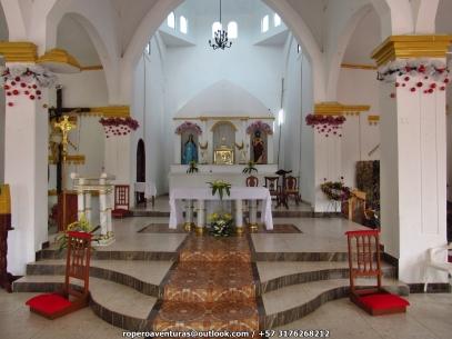 interior Parroquia inmaculada concepcion de chimichagua