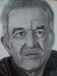 Dibujo de Gabo a lapiz