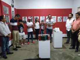 Inauguracion exposicion de jasi calderon