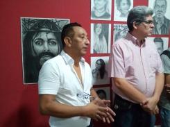 Jorge Luis Serrano curador de arte