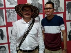 Exposicion del dibujante jasi calderon