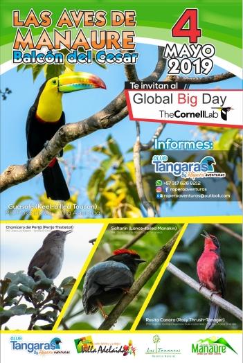 Afiche Global Big Day Cesar 2019