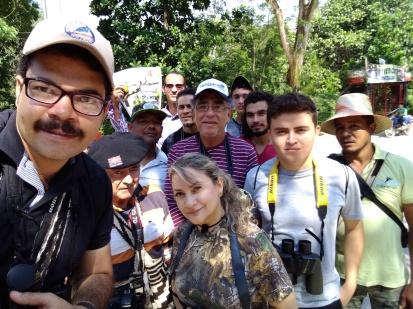 Birding Manaure Club Tangaras
