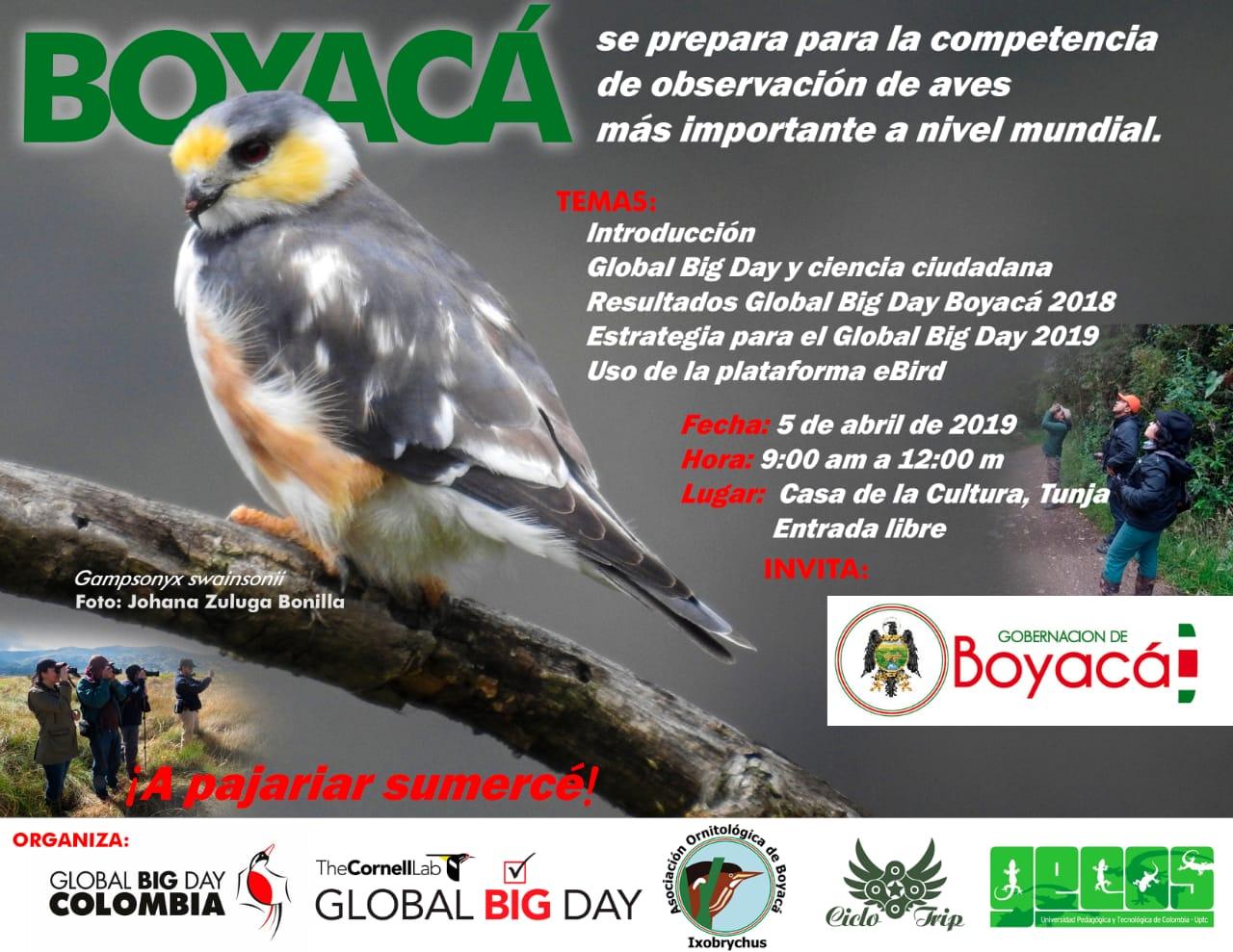 Invitacion global big day boyaca