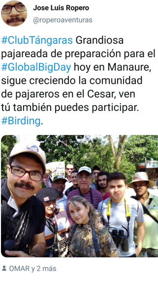 Pajareros de Manaure Cesar