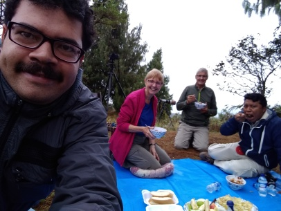 picnic con Michael Paula webster y pushaina