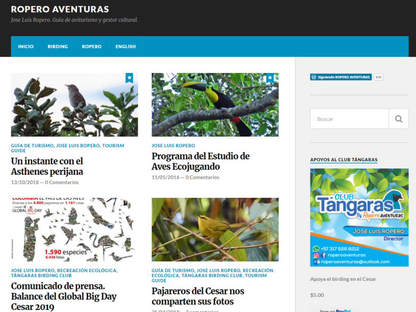 Portada blog Ropero Aventuras