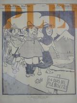 Pancarta plebiscito colombiano 1957