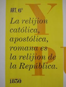 Artículo 6 Constitución de 1830