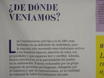 Imagen sobre la Constitución de 1991