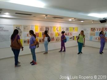 Visitantes exposición Banco de la República