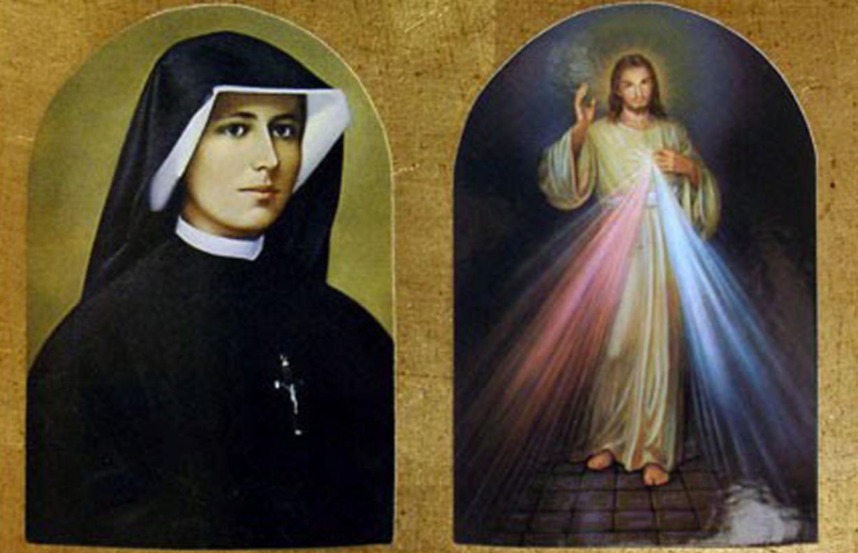 Santa Faustina y el Señor Divina Misericordia