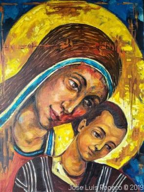 Virgen Kykkotissa María del Camino