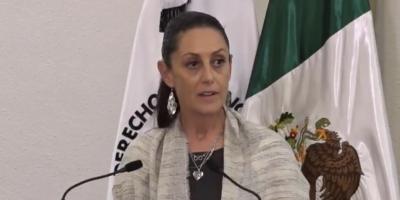 Alcaldesa Claudia Sheinbaum