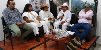 Conversatorio sobre indígenas de la Sierra Nevada