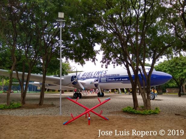 Avion parque de la provincia