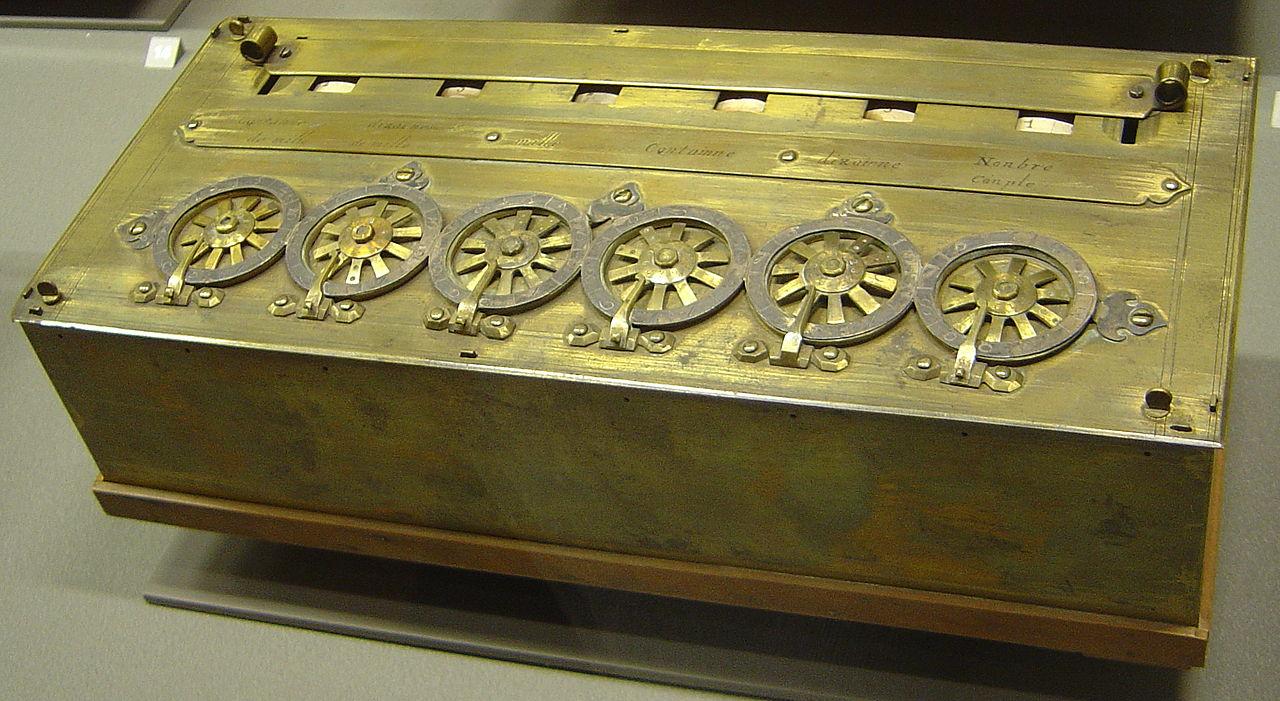 Calculadora mecanica pascalina