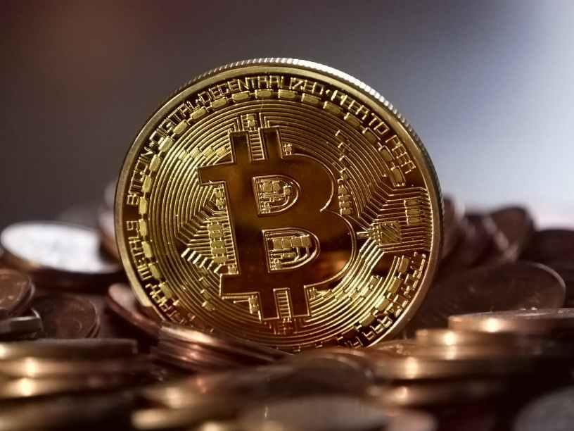 Moneda en primer plano