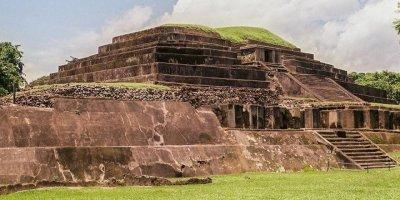 Ciudad maya Tazumal El Salvador