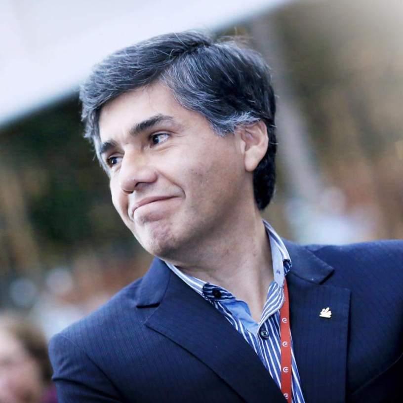 Retrato Economista Jose Tapia del Peru