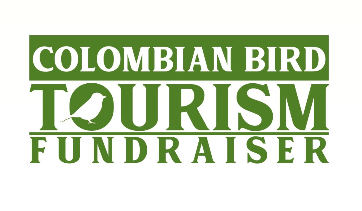 Logotipo en colores verde y blanco con silueta de pajaro