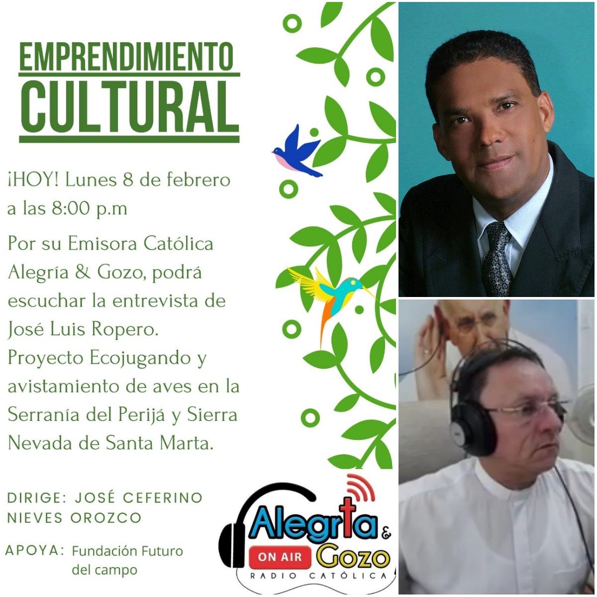 Radio alegria y gozo padre jose Enrique muñoz