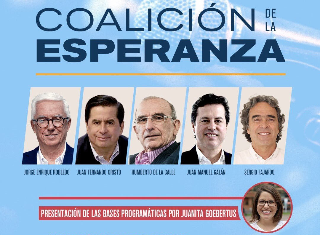 precandidatos a la presidencia de colombia 2022